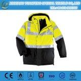 양털 온난한 Scotchlite 3m 사려깊은 안전 재킷