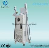 3 em 1 Elight Opt máquina Multifunctional do rejuvenescimento da pele da máquina da remoção do cabelo do sistema da beleza do laser do ND YAG