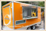 Reboques móveis Arábia Saudita da restauração do caminhão do alimento de Ys-Fb390d