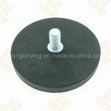 Magnete di vaso rivestito di gomma su misura, Magnet Holding