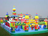 Giant Inflatable Disny Fun City, Outdoor Disny Castle