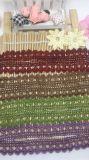 Cordón de nylon de la suposición del recorte del bordado del poliester del cordón de la venta al por mayor los 2.5cm de la fábrica del bordado común de la anchura para el accesorio de la ropa y la decoración casera de las materias textiles y de las cortinas