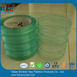 400mm Breite antistatischer grüner doppelter gewellter Belüftung-Streifen-Vorhang Rolls