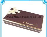 Caixa do chocolate do Valentim/caixa de papel do presente/embalagem requintado da caixa do alimento dos doces de chocolate