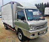 Camion frigorifié d'aliments surgelés, camion de congélateur de pièce de refroidissement