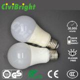 Natual White 85-265V Lâmpada LED 5W E27 Lâmpada de iluminação LED