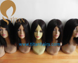 Parrucca lunga diritta dei capelli umani di Remy per la donna