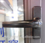 緩和されたガラスが付いている二重ガラスをはめられた外の開始アルミニウム開き窓のWindows