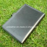 Carpeta de fichero portable de la lista del diseño de la PU de la alta calidad