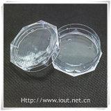 Rectángulo plástico de acrílico Shaped redondo del rosario (IO-p015)