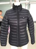 Вниз заполняя батареи температуры разрешения 5V&7.4V куртка трехуровневой регулируемой перезаряжаемые Heated