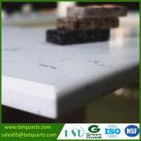 Оптовый белый Veined Carrara сляб камня кварца