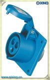 Maak iec309-2 3p+E Industriële AC 110-130V van de Contactdoos van de Stop 32A AMPÈRE waterdicht