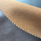 Polyester Backing PU Leather for Furniture Sofa Making