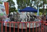 Im Freien Erwachsener und Kinder sperrten themenorientiertes Spielplatz-Gerät für Verkauf