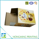 Caja de embalaje impresa aduana de la cartulina acanalada para el alimento