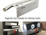 Aluminium-vorderer Kfz-Kennzeichen-Montierungs-allgemeinhinhalter für weg von hellen Stab der Straßen-LED