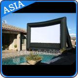 Раздувной плавая экран киноего воды, коммерчески гигантский раздувной экран для отдыха