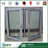 오프닝 안쪽에 UPVC에 의하여 이중 유리로 끼워지는 여닫이 창 Windows