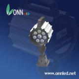 24VDCセリウムCert LEDのCNCのためのピボットヘッド接合箇所LED作業ランプ