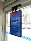 el panel doble Digital Dislay del LCD de las pantallas 49inch que hace publicidad del jugador, señalización de Digitaces