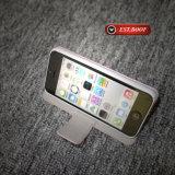 Personnaliser le cas en cuir de téléphone mobile d'unité centrale pour l'iPhone 7