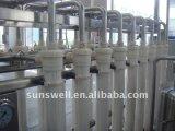 Planta subterrânea do tratamento da água da osmose reversa
