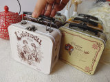 Малый чемодан олова с ручкой и замком