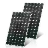 Mono двойные стеклянные наборы панели солнечных батарей шкафа 210W для домашней сети электропередач