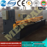 Máquina que pela (CNC) de la viga hidráulica del oscilación de QC12y (k) -6X3200