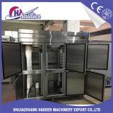 Refrigerador de alta presión del congelador de la panadería de las puertas de la PU que hace espuma 4/6 para el almacenaje del alimento
