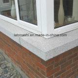 Davanzale grigio-chiaro fiammeggiato della finestra del granito G603 per la decorazione esterna