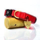 La qualité HK choient les colliers de crabot r3fléchissants du tissu DEL de plongée de produits