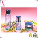 Ensemble entier de bouteilles cosmétiques et de chocs de mode élégante pour des soins de la peau de constructeur