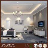Parede protetora decorativa plástica de madeira dos materiais compostos para o quarto