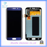 L'affissione a cristalli liquidi del telefono mobile per il bordo della galassia S6 di Samsung video l'Assemblea