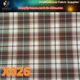 주식에 있는 상품! 폴리에스테 의복 (X025-27)를 위한 다채로운 검사 직물 직물