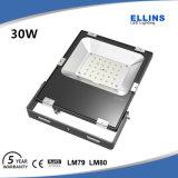 Luz de inundación del vatio LED de la alta calidad Ik08 30