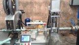 Vedador automático cheio do silicone da máquina de enchimento da salsicha que reembala a máquina