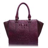 Marken-Handbeutel-Luxuxkrokodil-Entwerfer-Handtaschen der Dame-echtes Leder