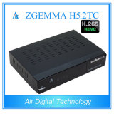 Zgemma H5.2tc H. 265 TV decodificador Combo Twin DVB T2 / C + DVB S2