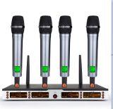 Sistema profesional del Karaoke del micrófono de la frecuencia ultraelevada Wireles de Gymsense con el transmisor Handheld del Mic para KTV o discurso y discurso de la iglesia