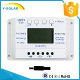 T20 20A PWM Solaraufladeeinheits-Entlader-Controller 12V/24V