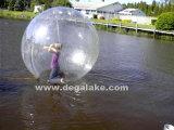 Bille gonflable gonflable de danse de bille de plage personnalisée