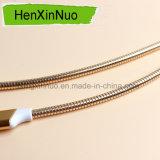 Proteção da mangueira do metal para o micro cabo de dados do USB do USB Cablecharger
