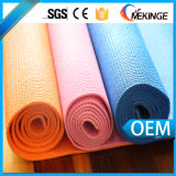 La estera decorativa de la yoga del PVC, aduana imprimió las esteras de la yoga
