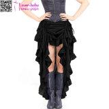 黒いSteampunkショーの女の子のスカートL549-1