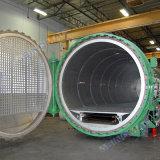 autoclave électrique industriel d'adhérence de fibre de carbone de chauffage de 2500X6000mm (SN-CGF2560)