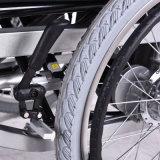 Precio 24V/340W*2 de potencia de salida de la fabricación plegable el sillón de ruedas eléctrico para el recorrido lejano