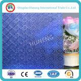 la ISO del Ce de 3-8m m certifica el vidrio de modelo teñido para la decoración